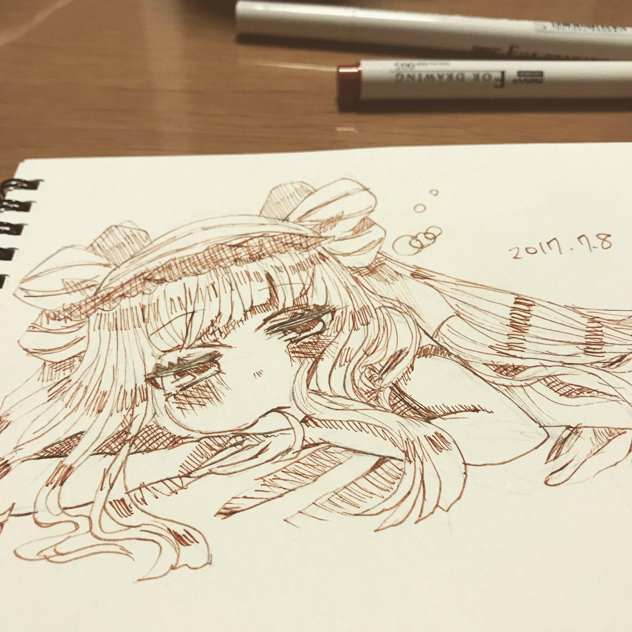 微睡む奈奈ちゃん